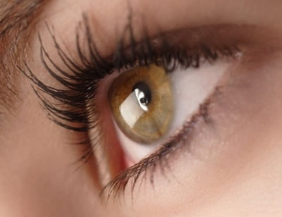 Светло-карий глаз