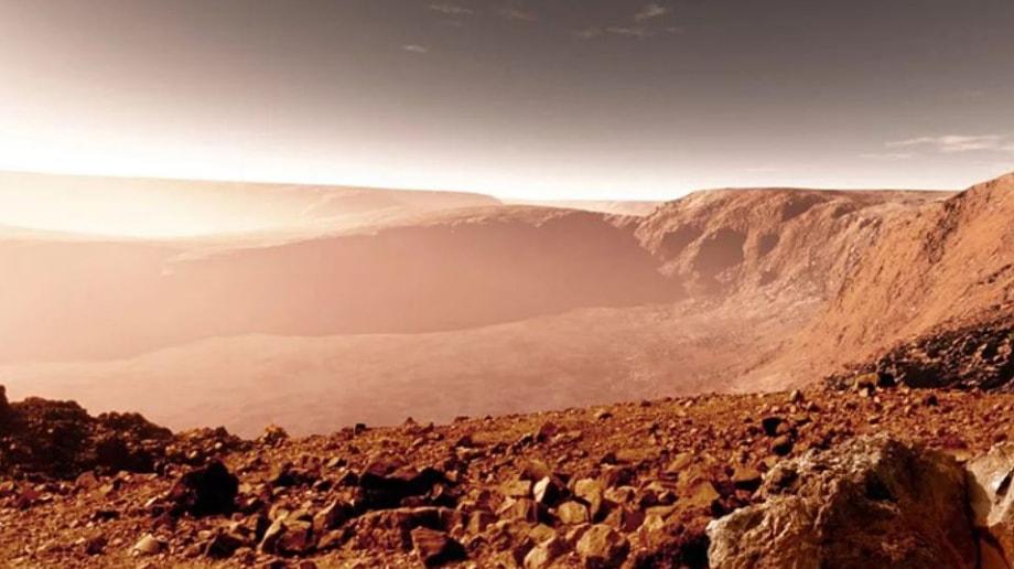 Давление и атмосфера на Марсе