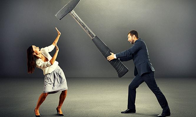 Психологическое насилие в семье над женщиной