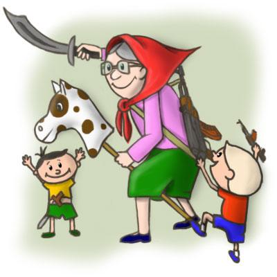 Вредные советы, которые дает бабушка