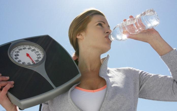 Как похудеть, с помощью воды