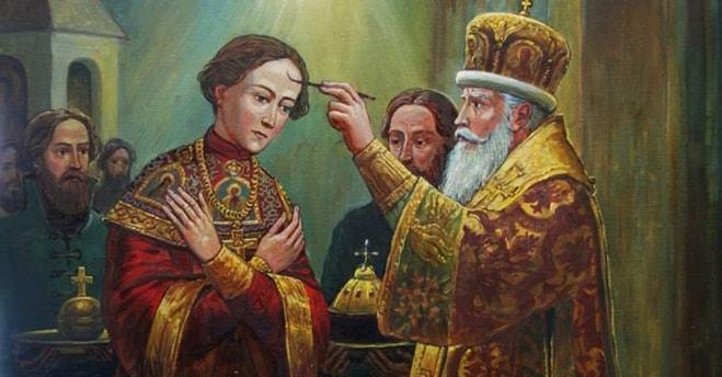 Коронация Михаила Федоровича Романова