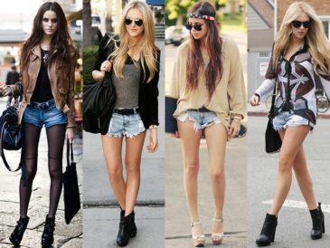 Мода на джинсовые шорты