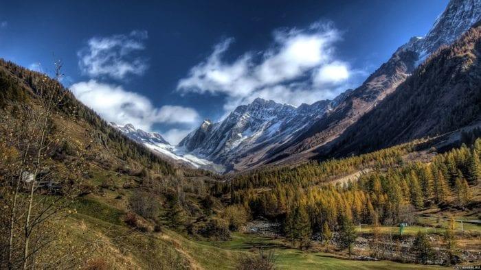Горы в Швейцарии