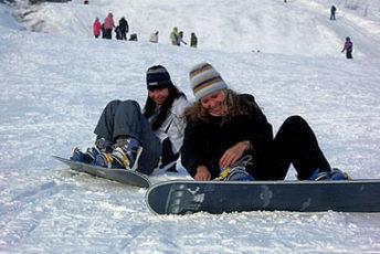 Лыжный туризм в Карпатах