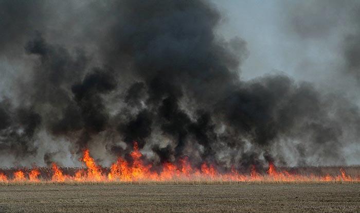 Нефть горит зря