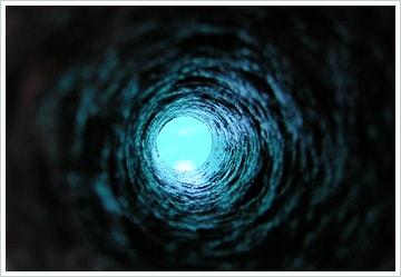 Если смотреть сквозь длинную трубу днем, можно увидеть звезды.