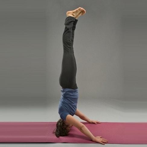 Польза перевернутых асан в йоге