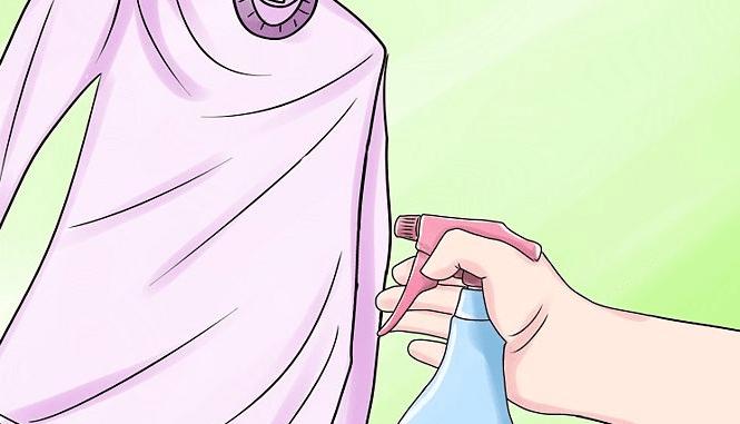 Способы глажки с помощью воды