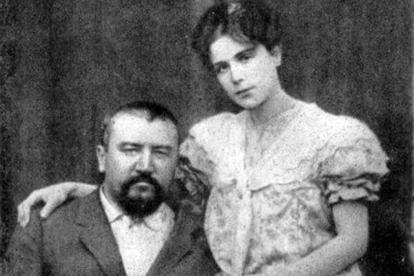 А. Куприн со второй женой Елизаветой Морицовной Гейнрих
