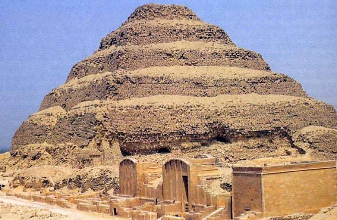 Ступенчатая Пирамида Джосера интересные факты