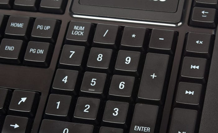 Что делать, если цифры на клавиатуре не работают?