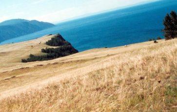 Длина самого большого острова Ольхон