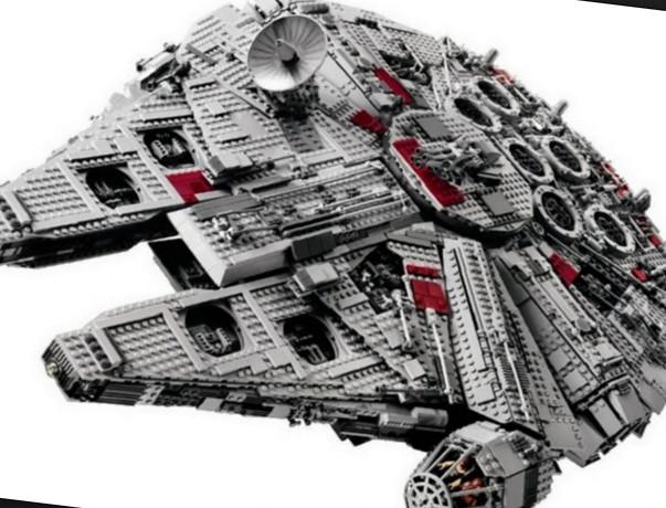 Самый большой в мире набор лего