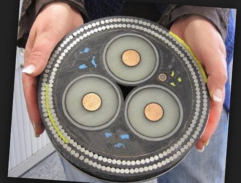 Самый толстый кабель в мире