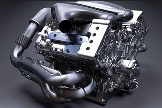 Двигатель болида Формулы 1