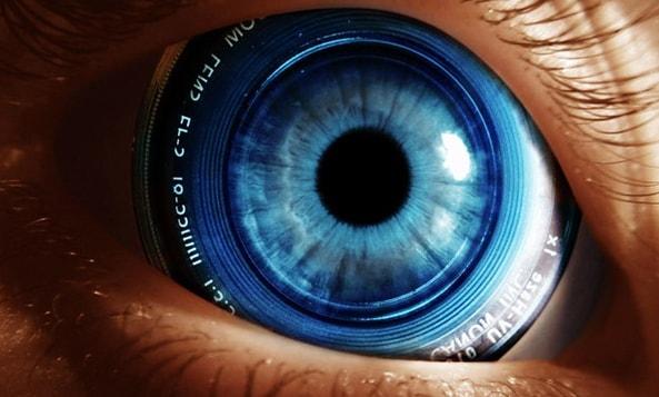 Глаз фотоаппарат
