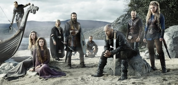 Главные герои сериала Викинги