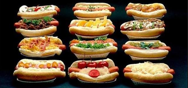 Разновидности хот-догов