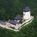 Замок Карлштейн вид сверху