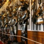 Замок Конопиште коллекция оружия