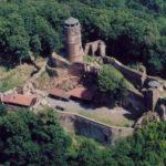 Замок Локет вид сверху