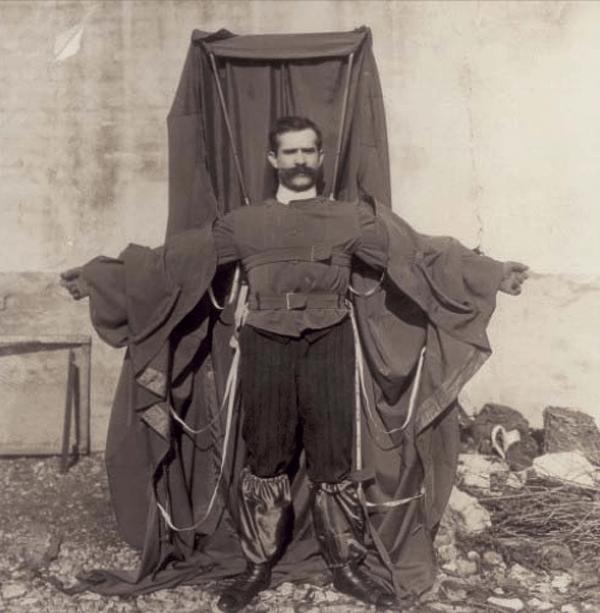 Franz Reichelt - изобретатель плаща парашюта