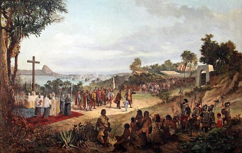 Основание португальцами города Рио-де-Жанейро