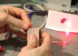 Как сделать лазер в домашних условиях