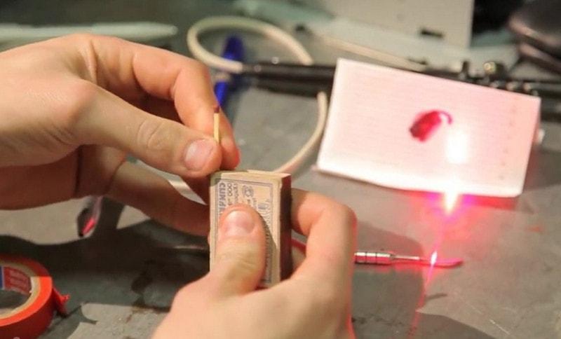 Как сделать домашний лазер для 26