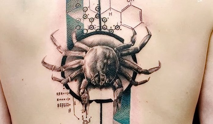 Татуировка краба