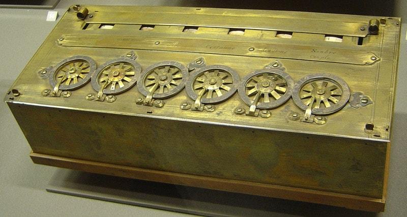 Первая вычислительная машина Блеза Паскаля