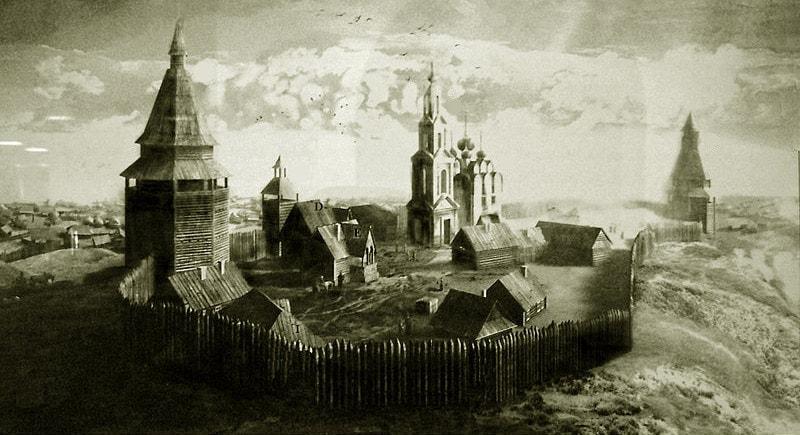 Уфа как крепость