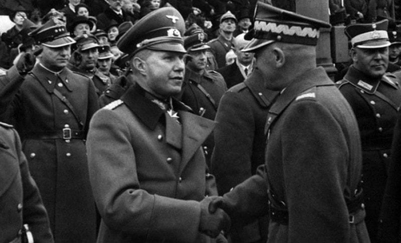 Во время первой мировой войны Юзеф Пилсудский поддерживал нацистов
